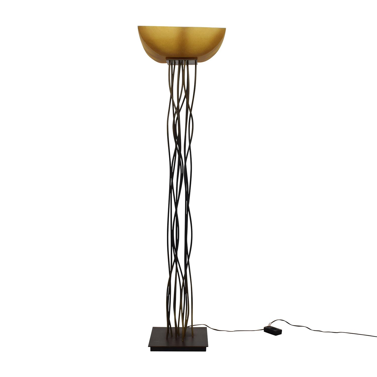Twig Floor Lamp Home Decoration