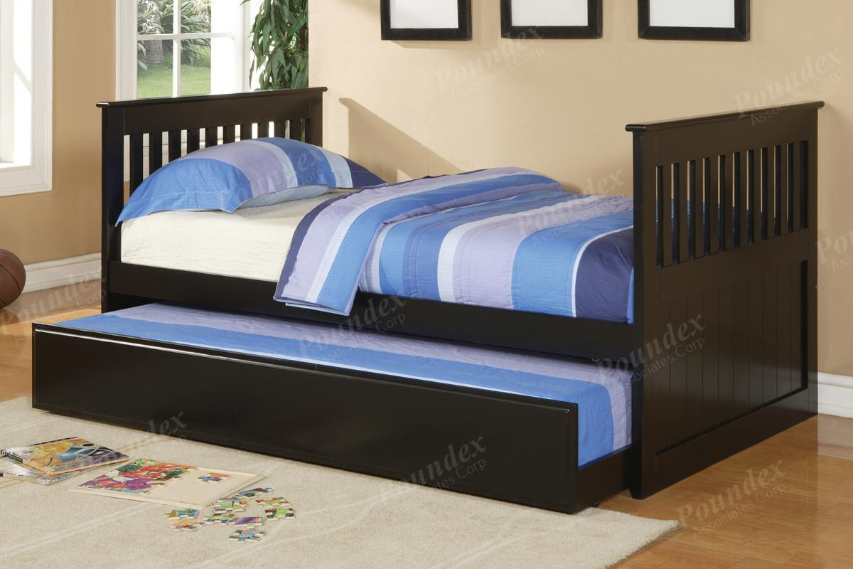 Twin Bed Trundle Day Bedroom Furniture