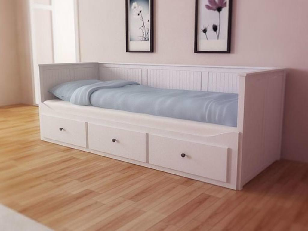 Twin Bed Trundle Pallet Design Information