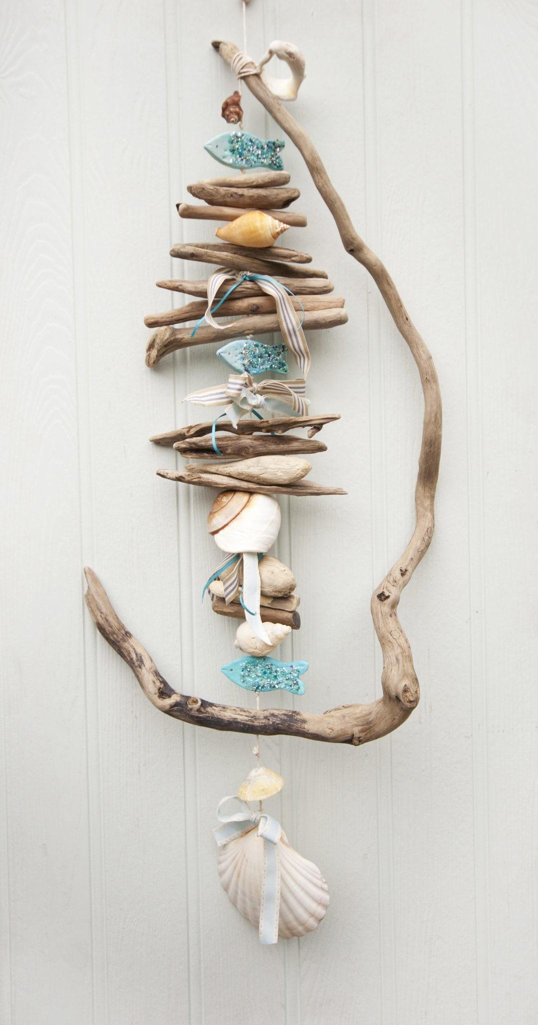 Twisted Driftwood Hanging Coastal Decor Dreaming