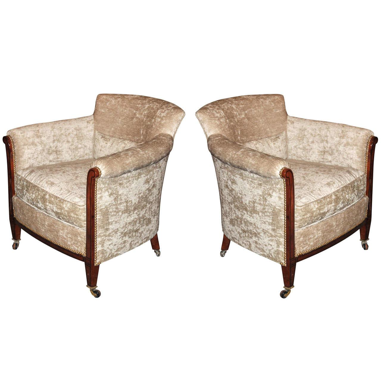 Two 1930s English Armchairs 1stdibs