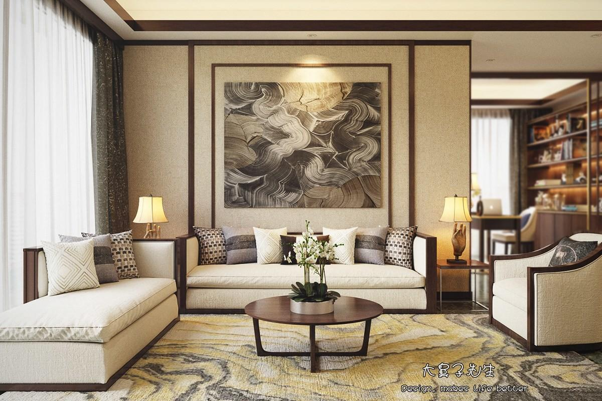 Two Modern Interiors Inspired Traditional Chinese Decor