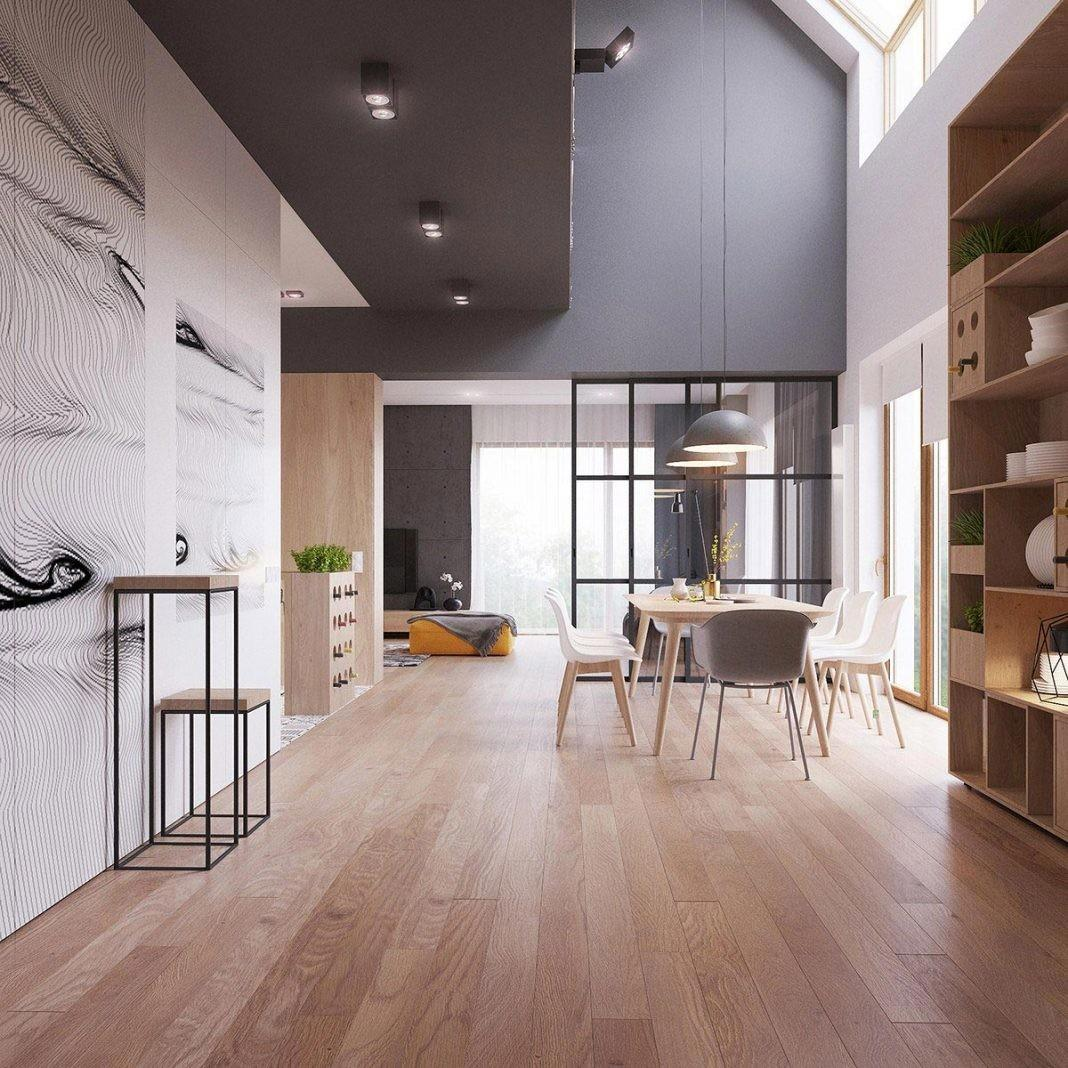 Two Storey Home Contemporary Scandinavian Style