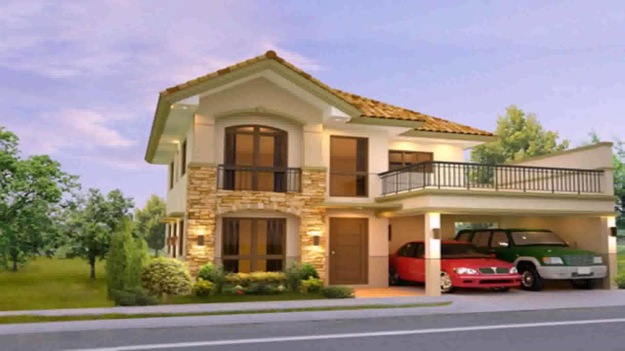 Two Storey House Design Floor Plan Philippines
