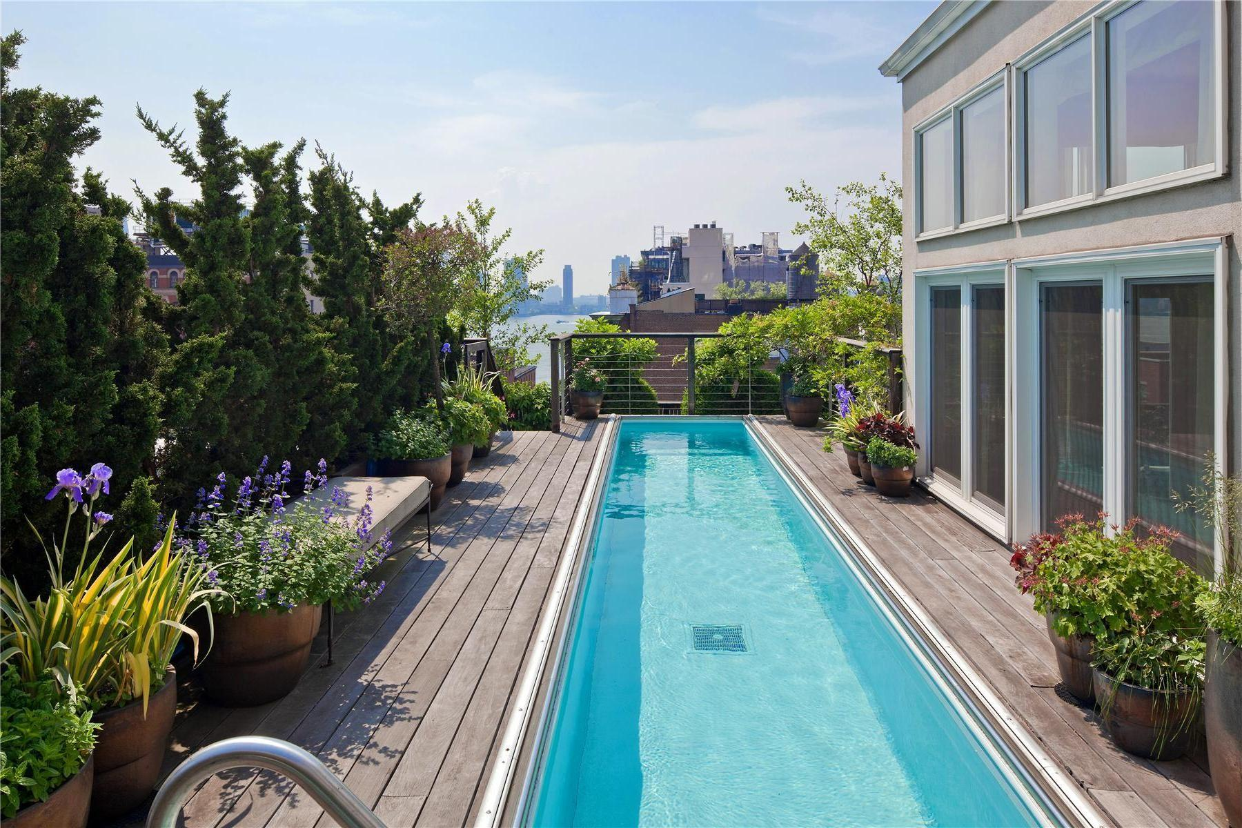 Two Story Penthouse Stunning Roof Terraces