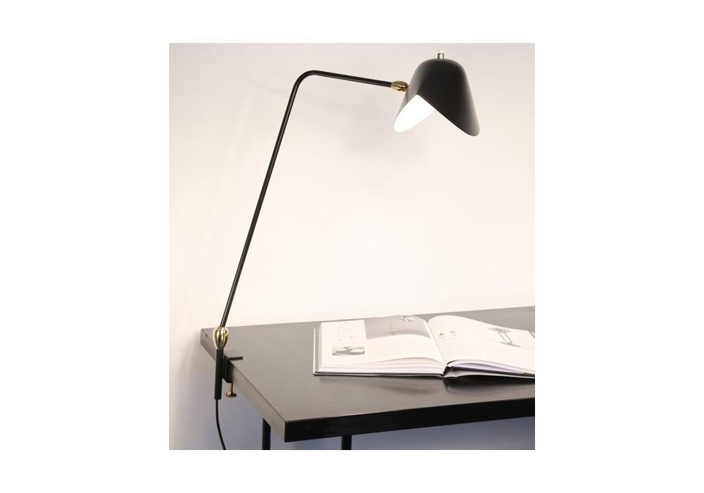 Two Swivels Agraf Serge Mouille Table Lamp Milia Shop