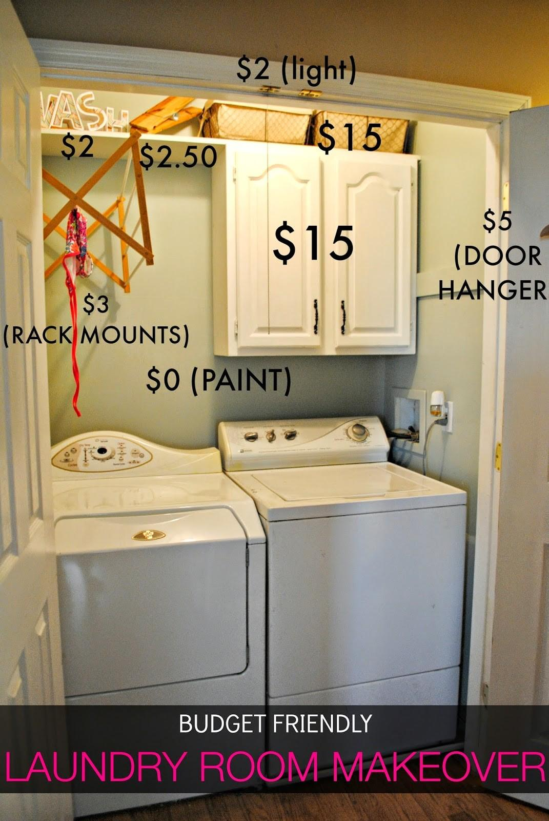 Two Yourself Laundry Closet Makeover Reveal