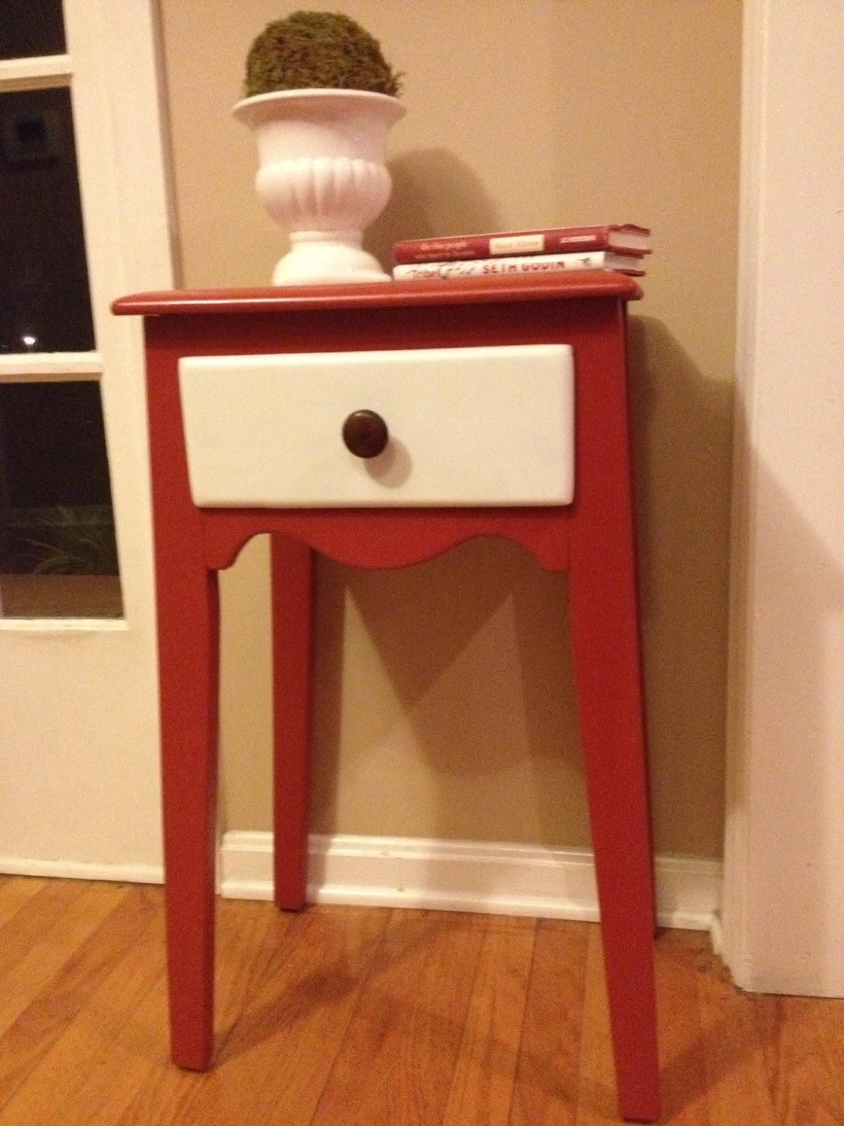 Two Yourself Refinished Small Entryway Table Diy