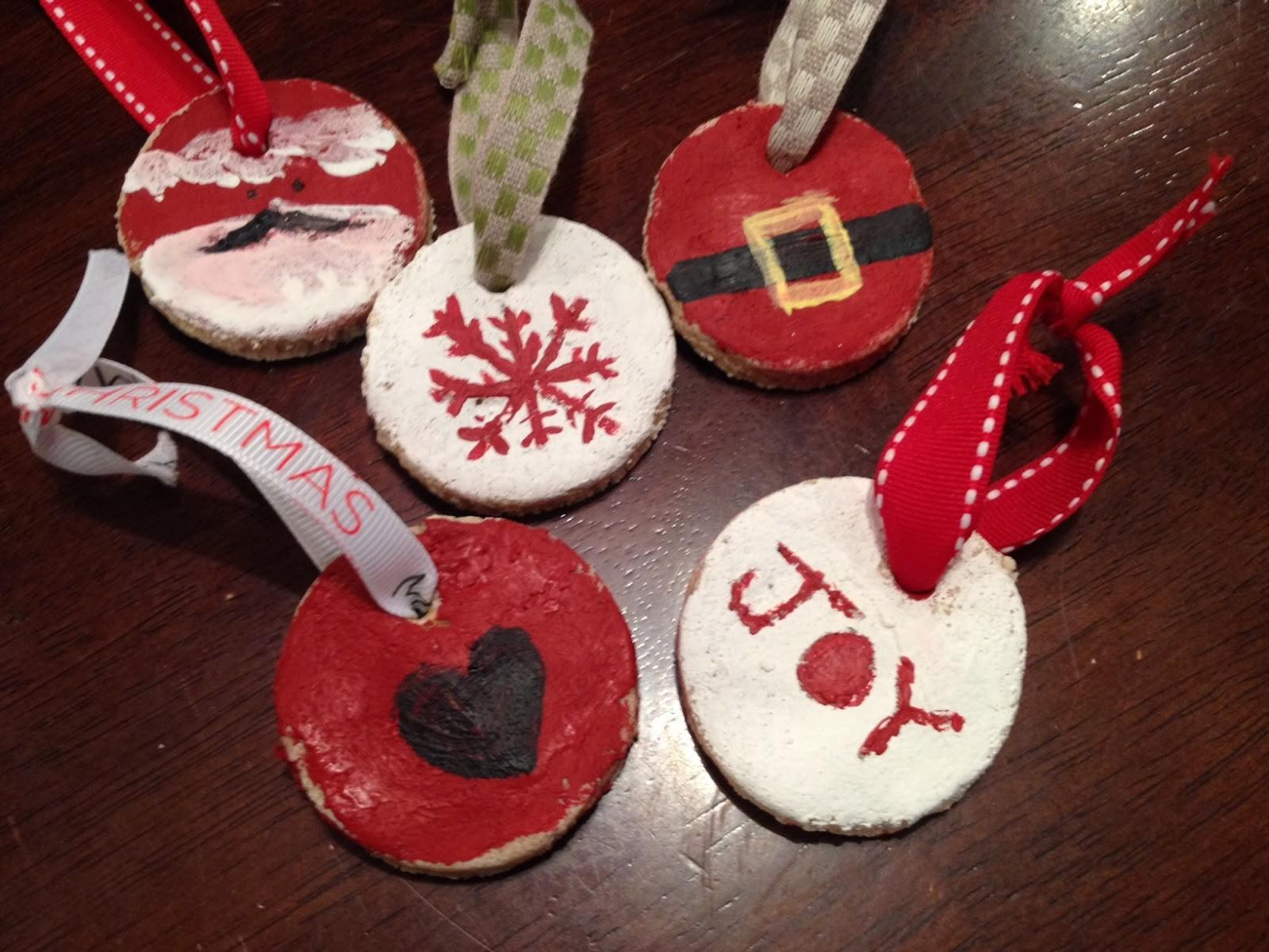 Two Yourself Salt Dough Recipes Ornaments