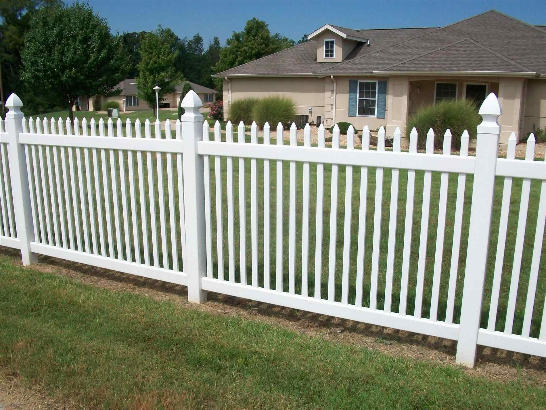 Types Backyard Fencing Picket Fence