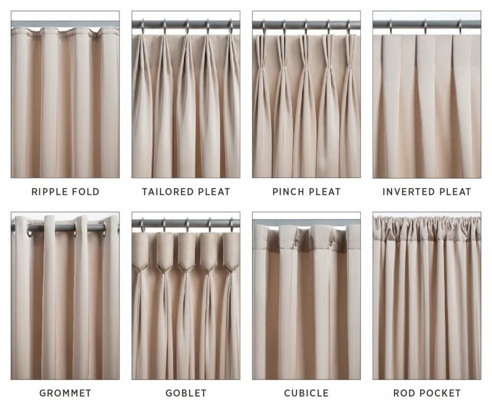 Types Curtains Drapes 1292