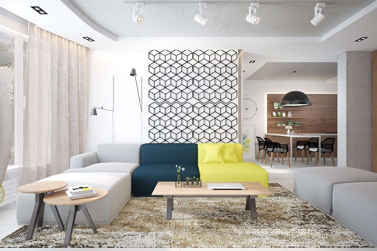 Types Fabulous Apartment Designs Combined