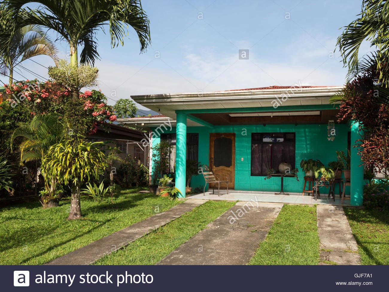 Typical Costa Rican House Fortuna Rica Central