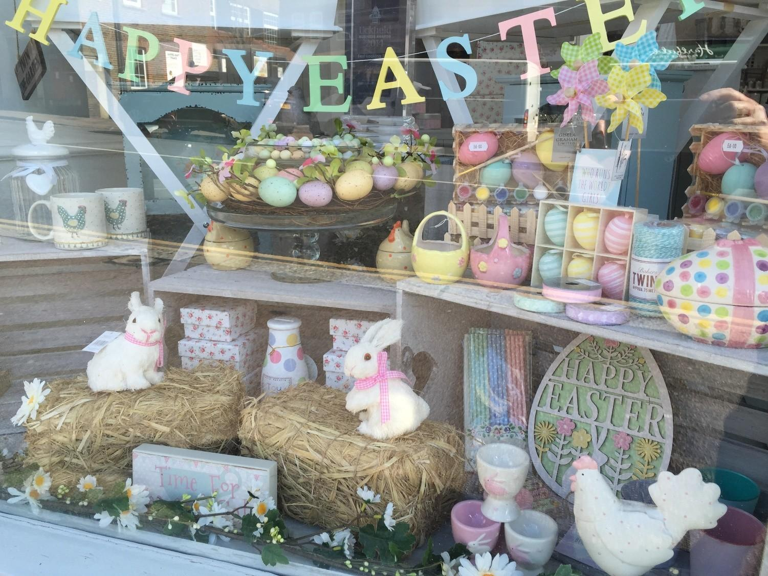 Uckfield Shops Celebrate Arrival Spring New