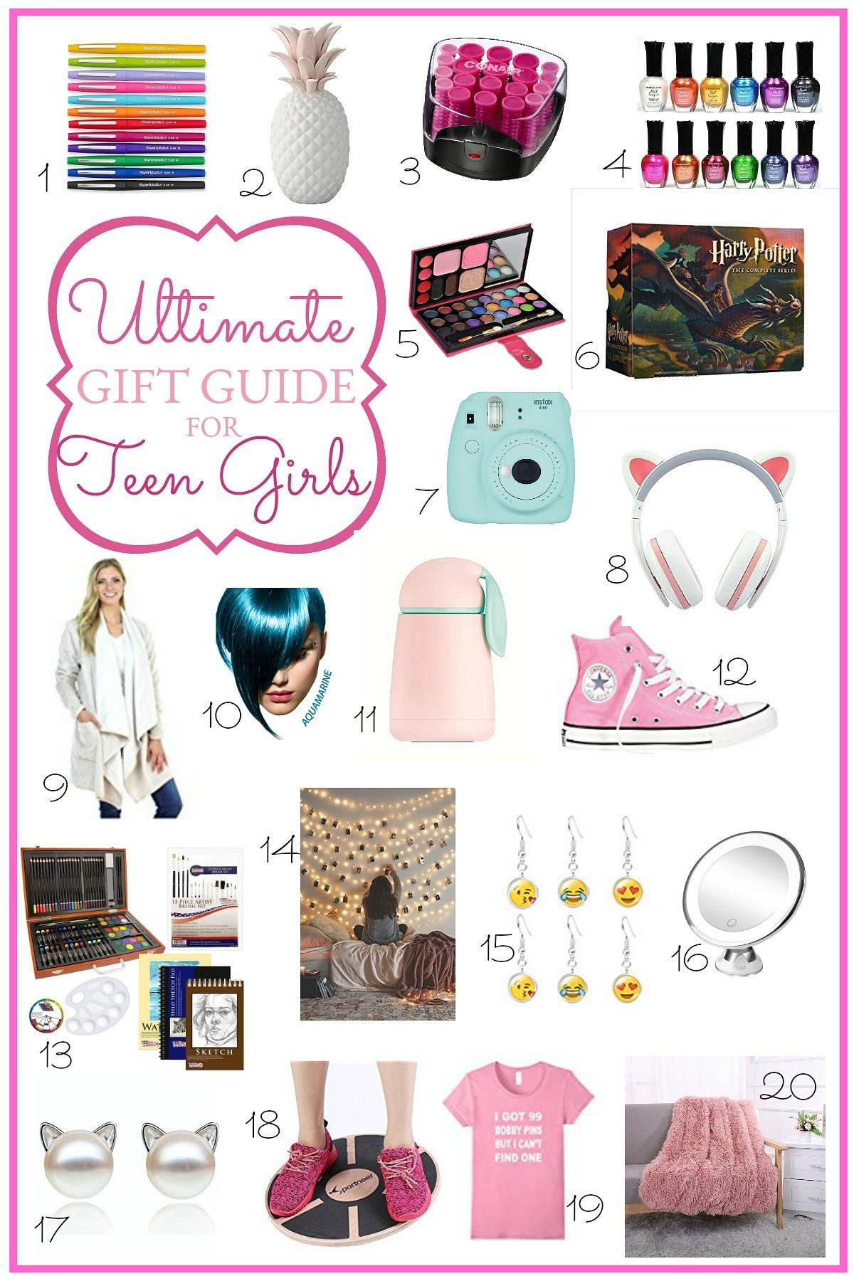 Ultimate Holiday Gift Guide Teen Girls Grateful