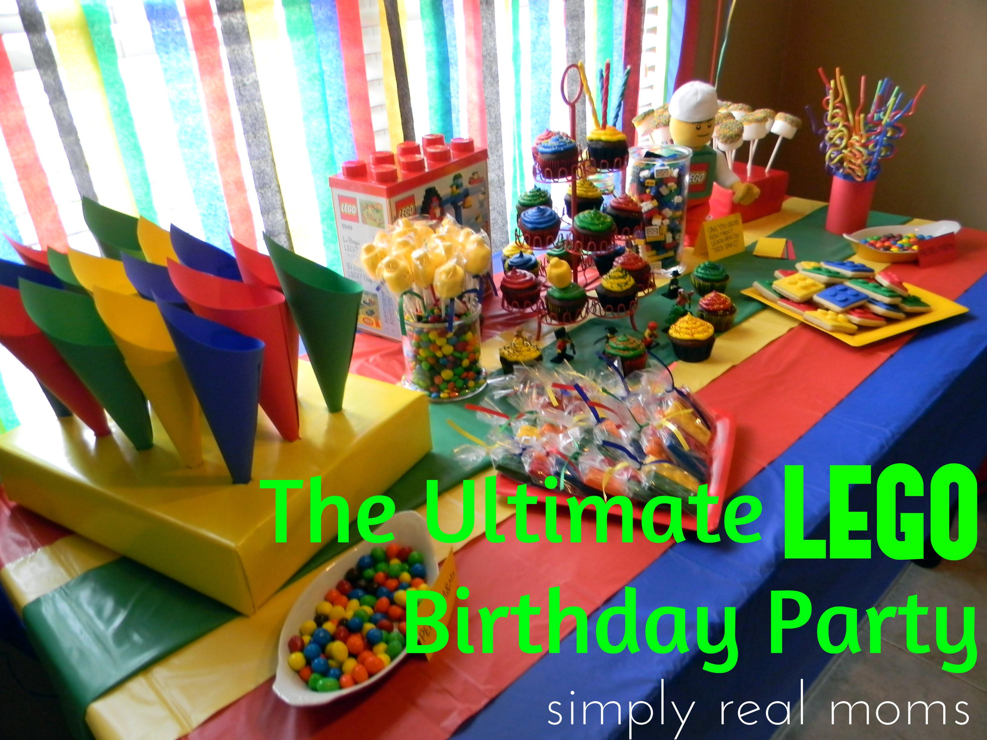 Ultimate Lego Birthday Party Simply Real Moms