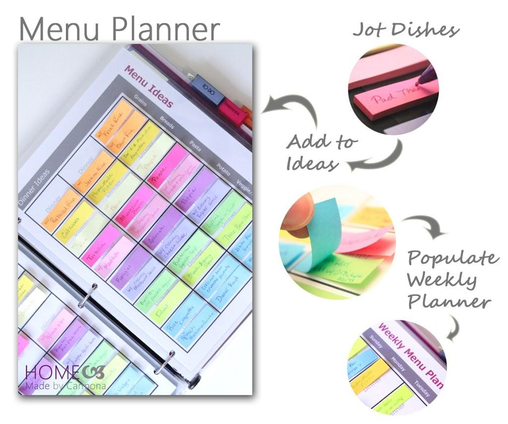 Ultimate Menu Planner Home Made Carmona