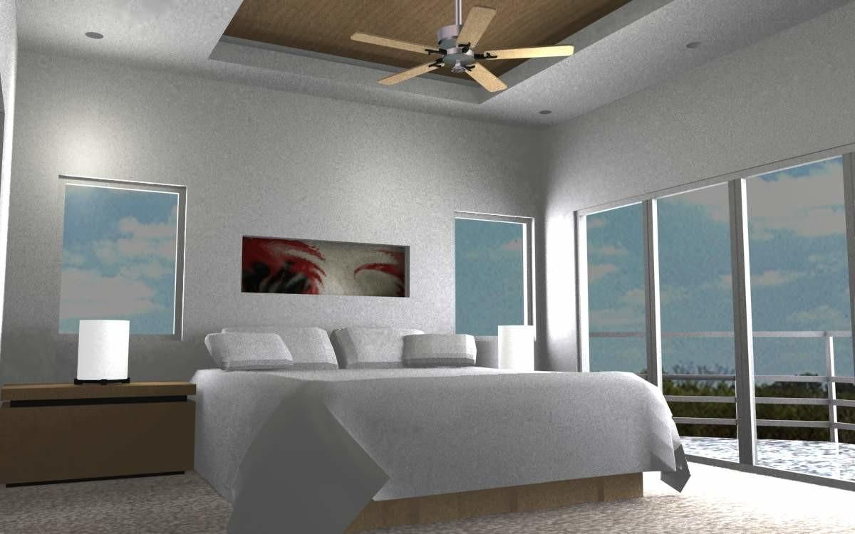 Ultra Modern Bedrooms Ceiling Designs