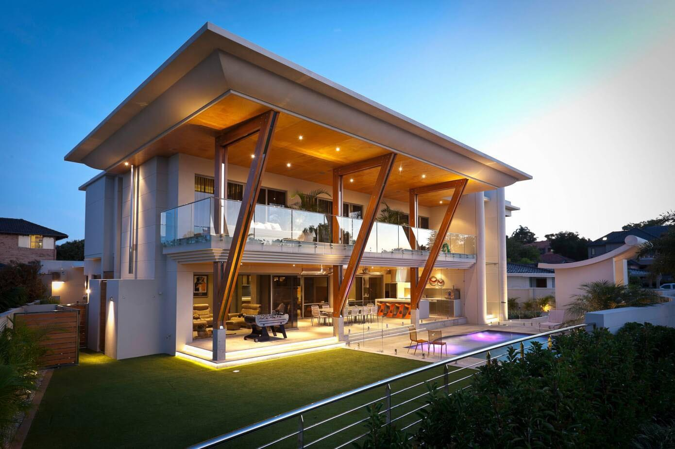 Ultra Modern Home Perth Large Roof Idesignarch