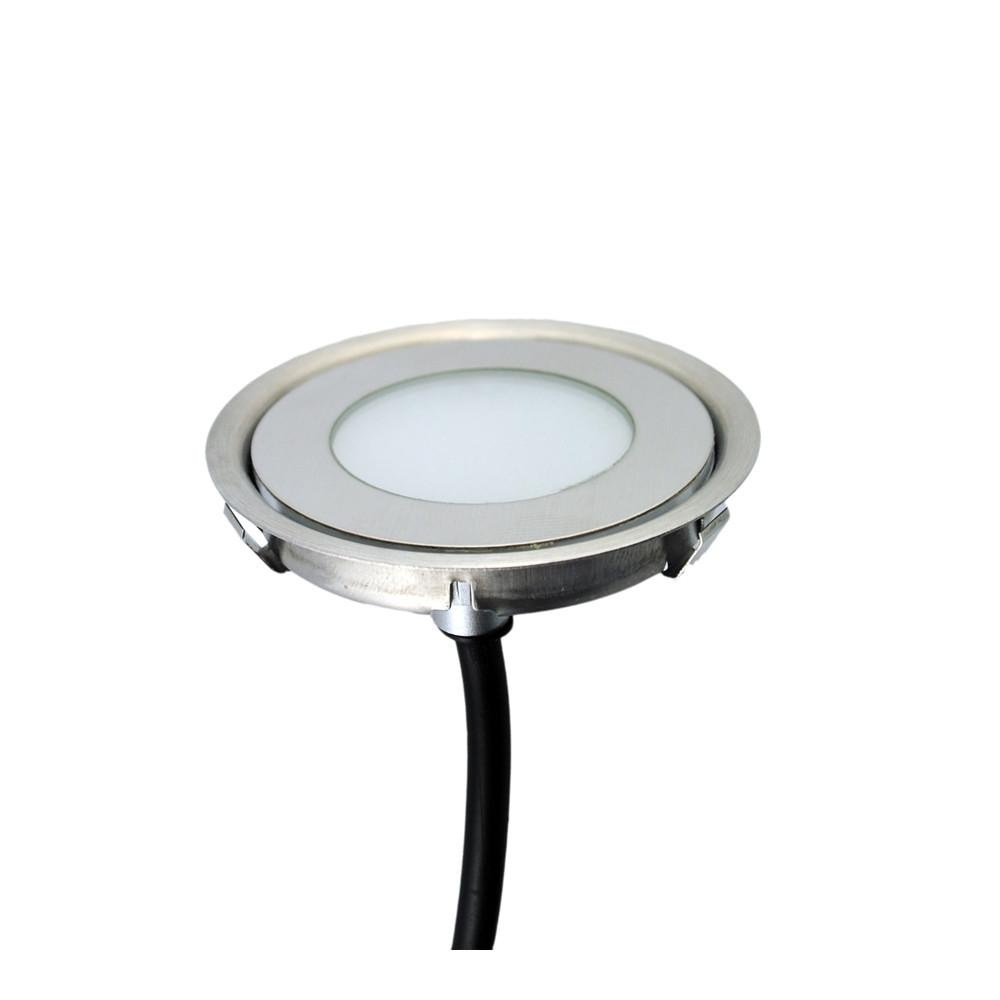 Ultra Thin Stainless Steel 12v Ip67 Round Outdoor Led