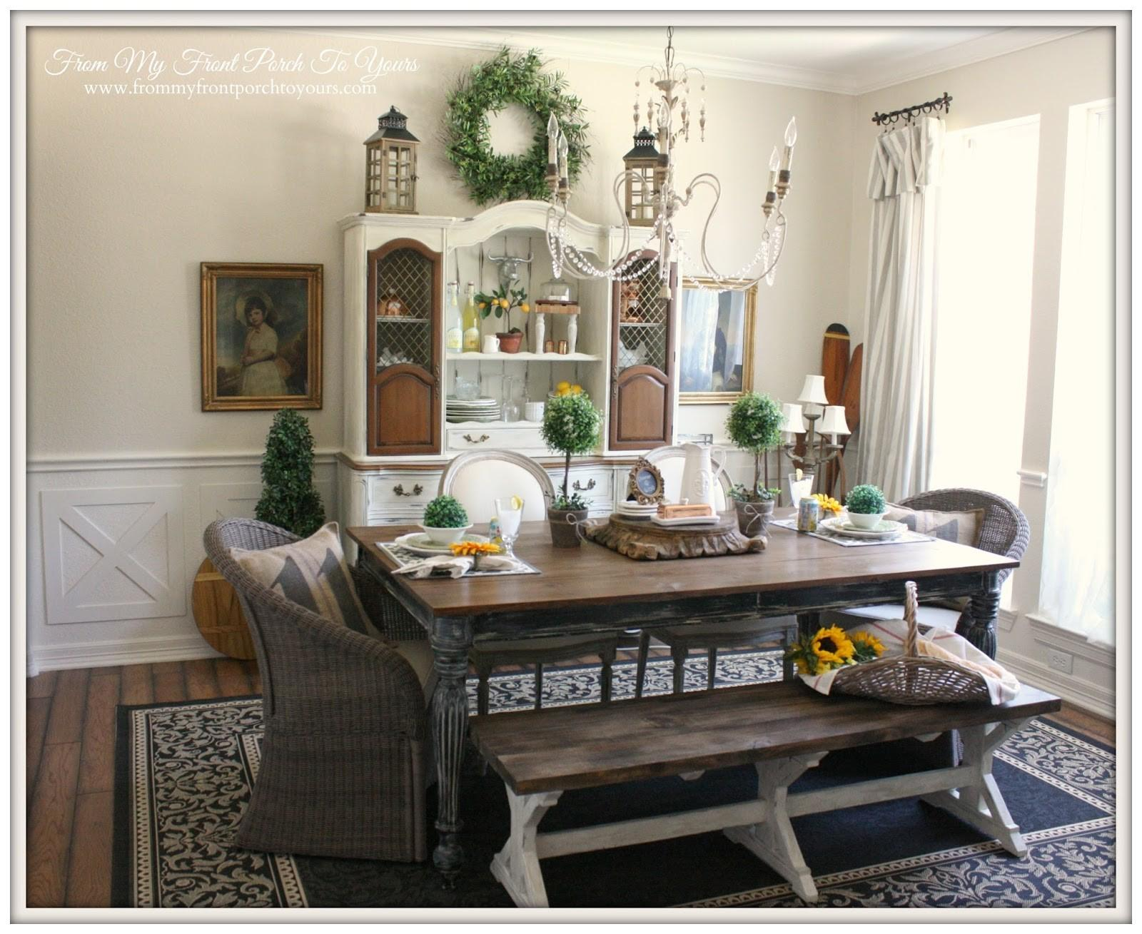 Unassumingly Chic Farmhouse Style Dining Room Ideas Igf