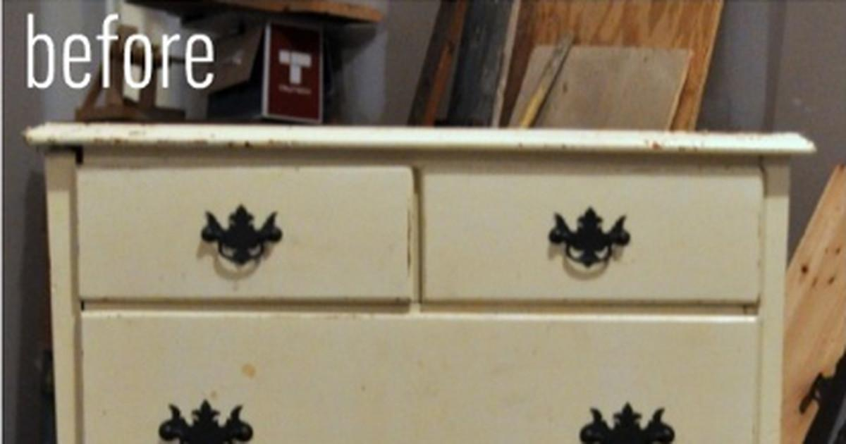 Unbelieveable Anthropologie Inspired Dresser Makeover Curbly