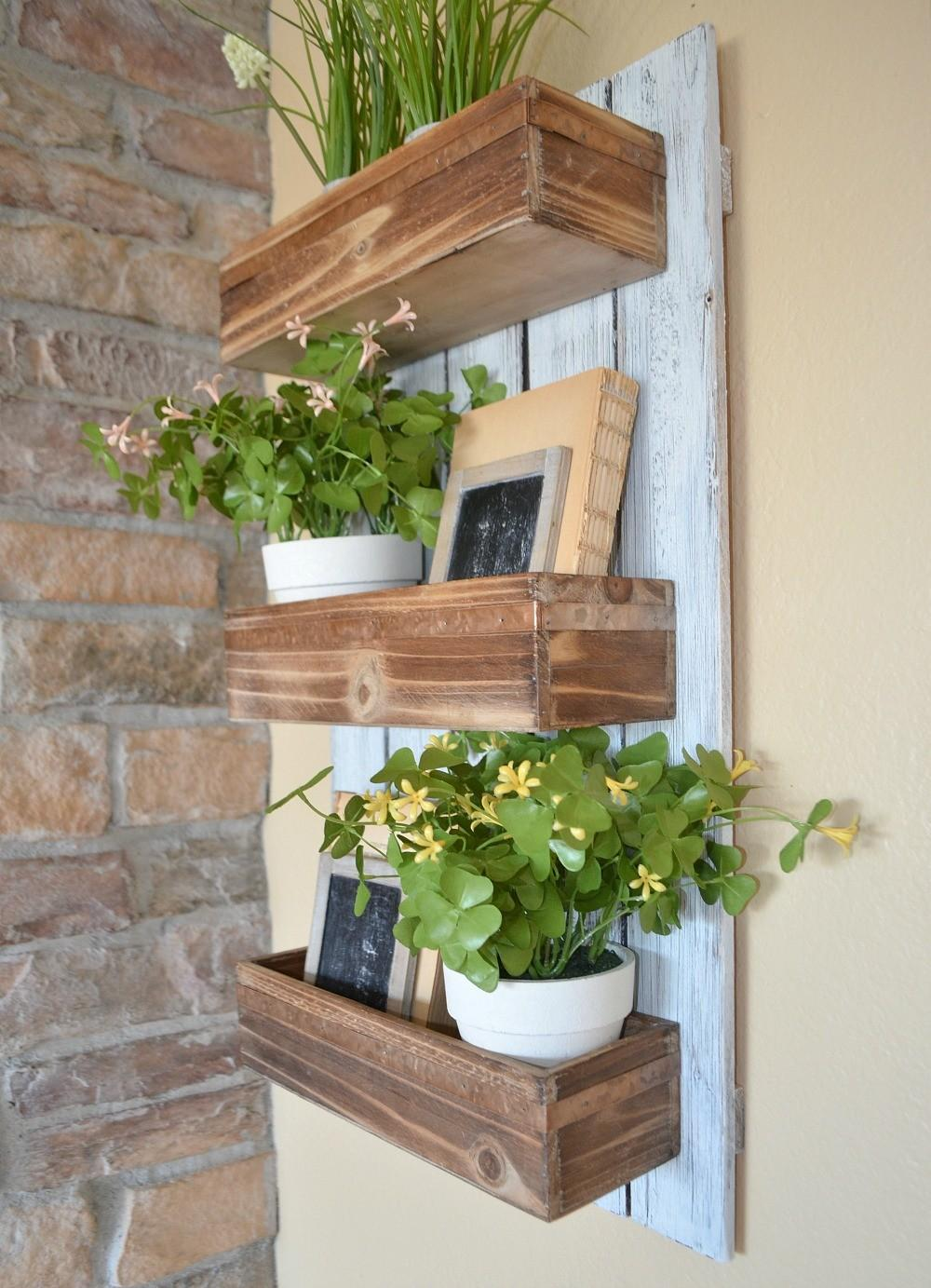 Uncategorized Wall Planters Diy Christassam Home Design