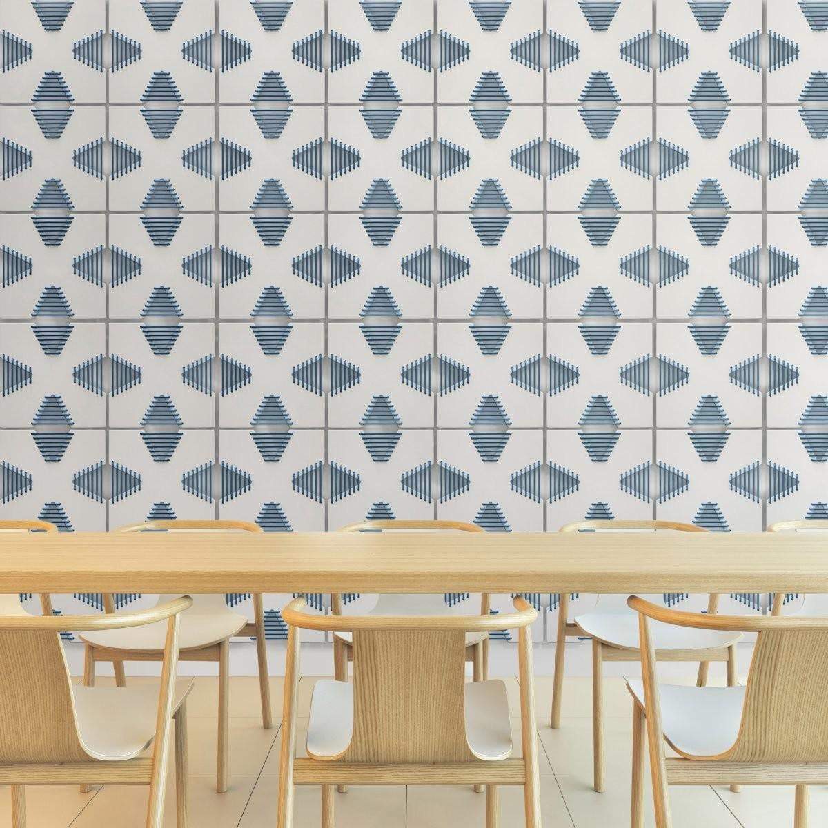 Unconventional Corset Tiles Adding Depth Playfulness