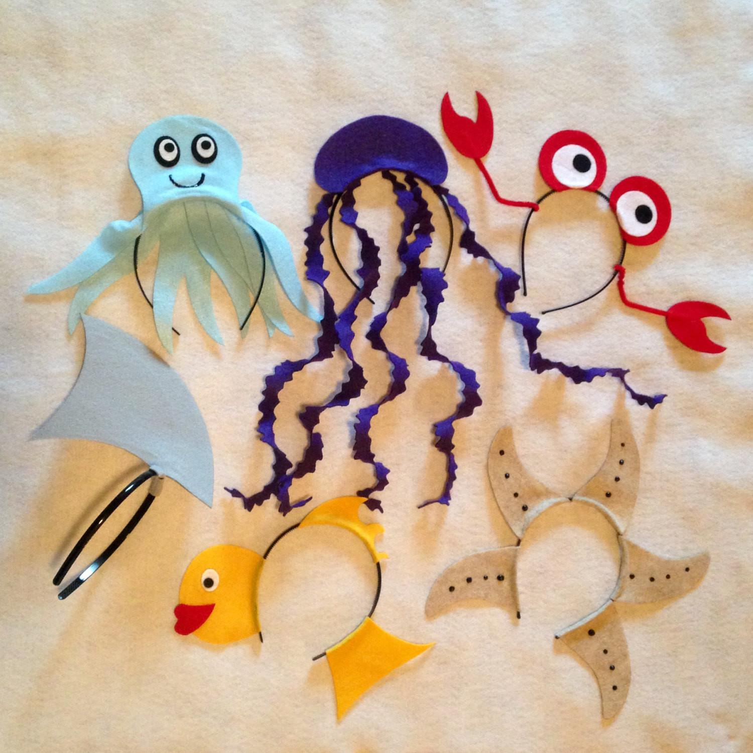 Under Sea Ocean Beach Theme Headbands Birthday Party