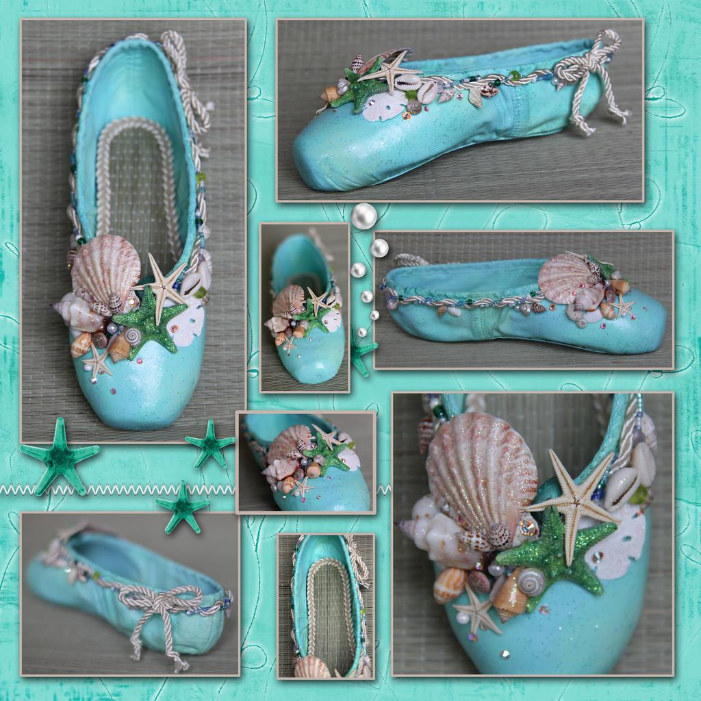 Under Sea Pointe Shoes Haylie Shell