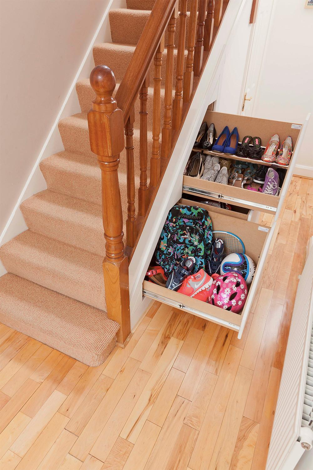 Under Stair Storage Ideas Extra Space