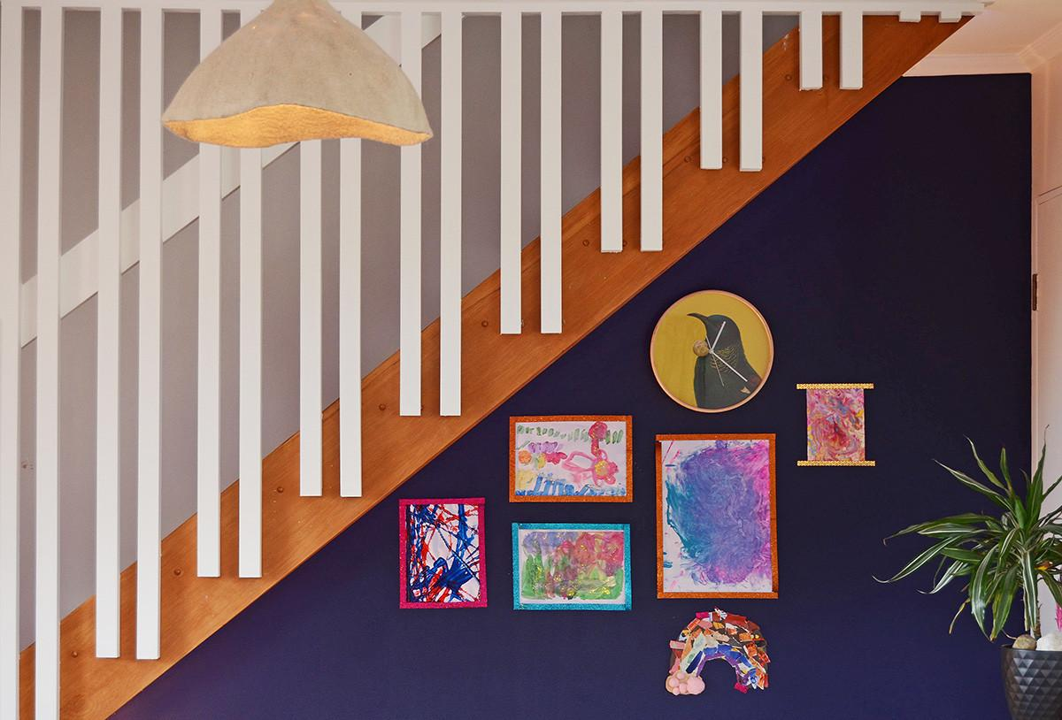 Under Stairs Kid Study Nook Part Magnetic Art