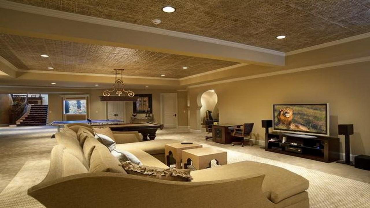 Unfinished Basement Charming Home Design