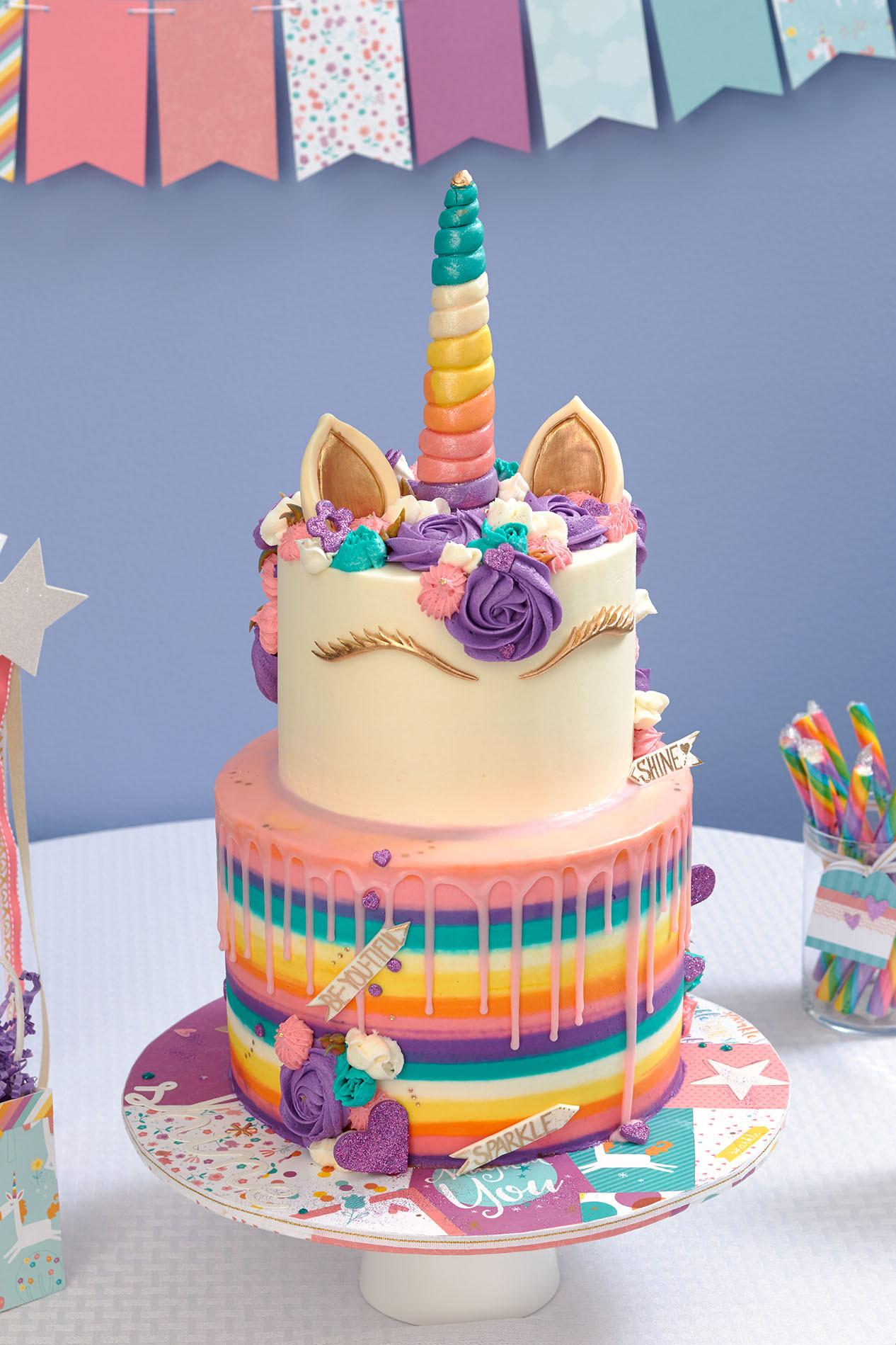 Unicorn Party Takes Cake Make Your Heart