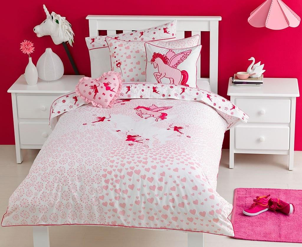 Unicorn Quilt Cover Set Bedding Kids