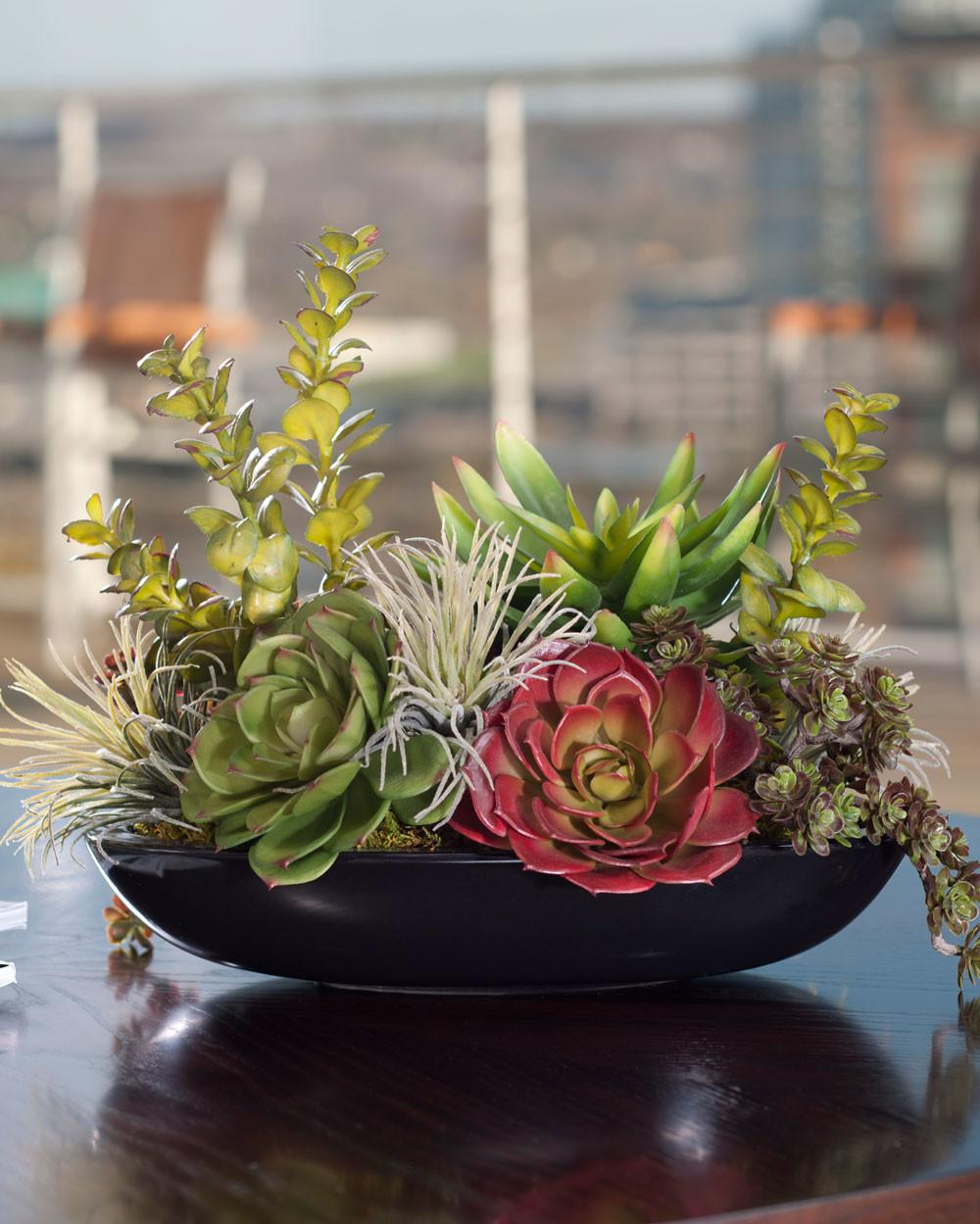 Unique Artificial Succulent Design Petals