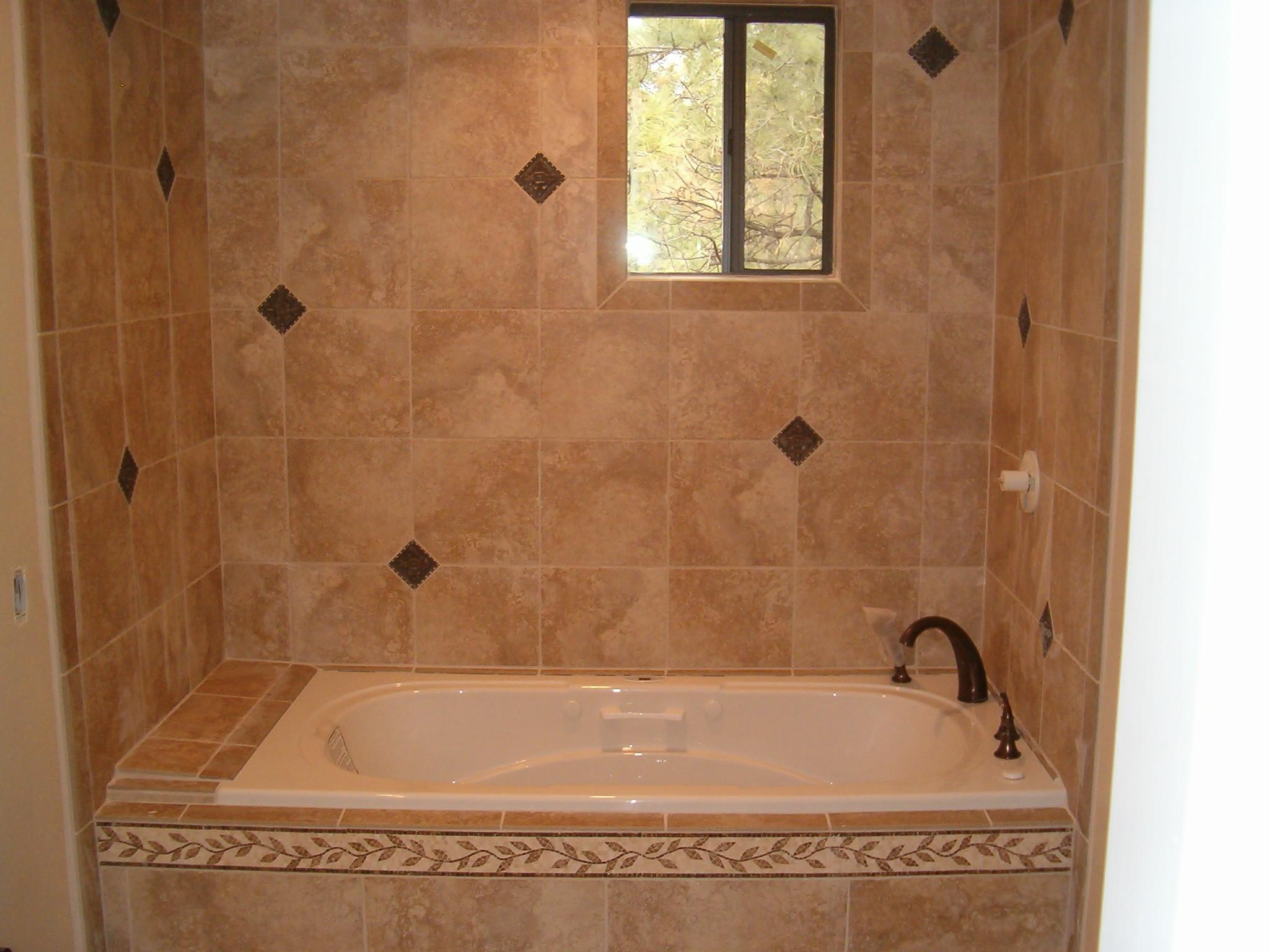 Unique Bathroom Tub Tile Ideas Design