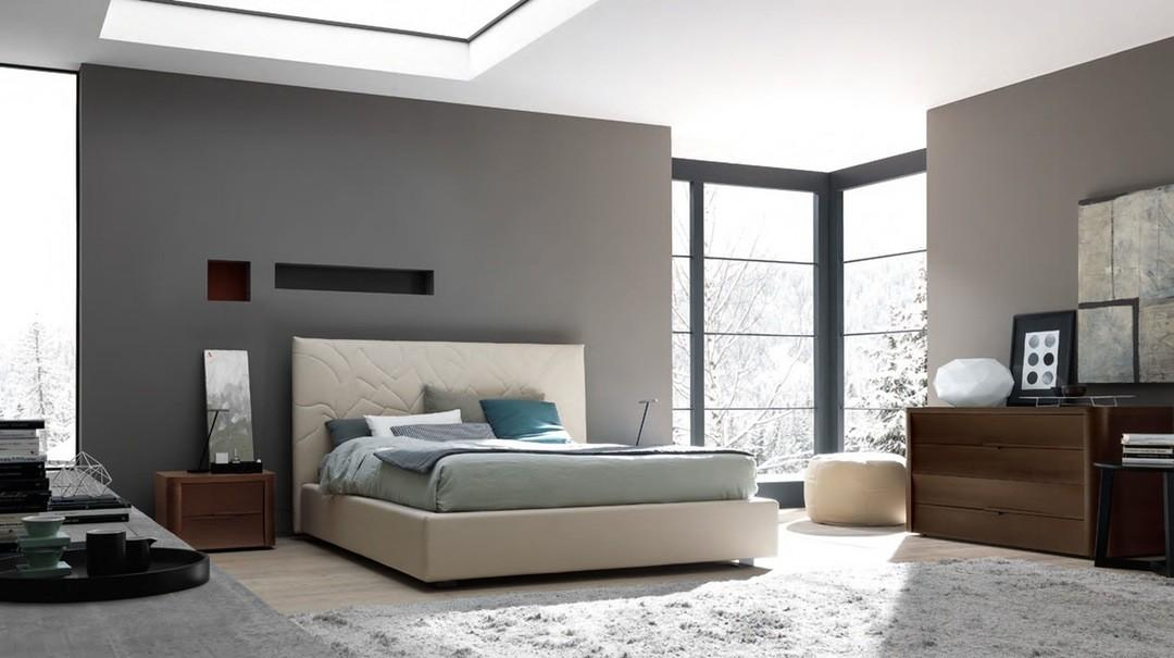 Unique Bedroom Paint Designs Guys Gray Wall Ideas
