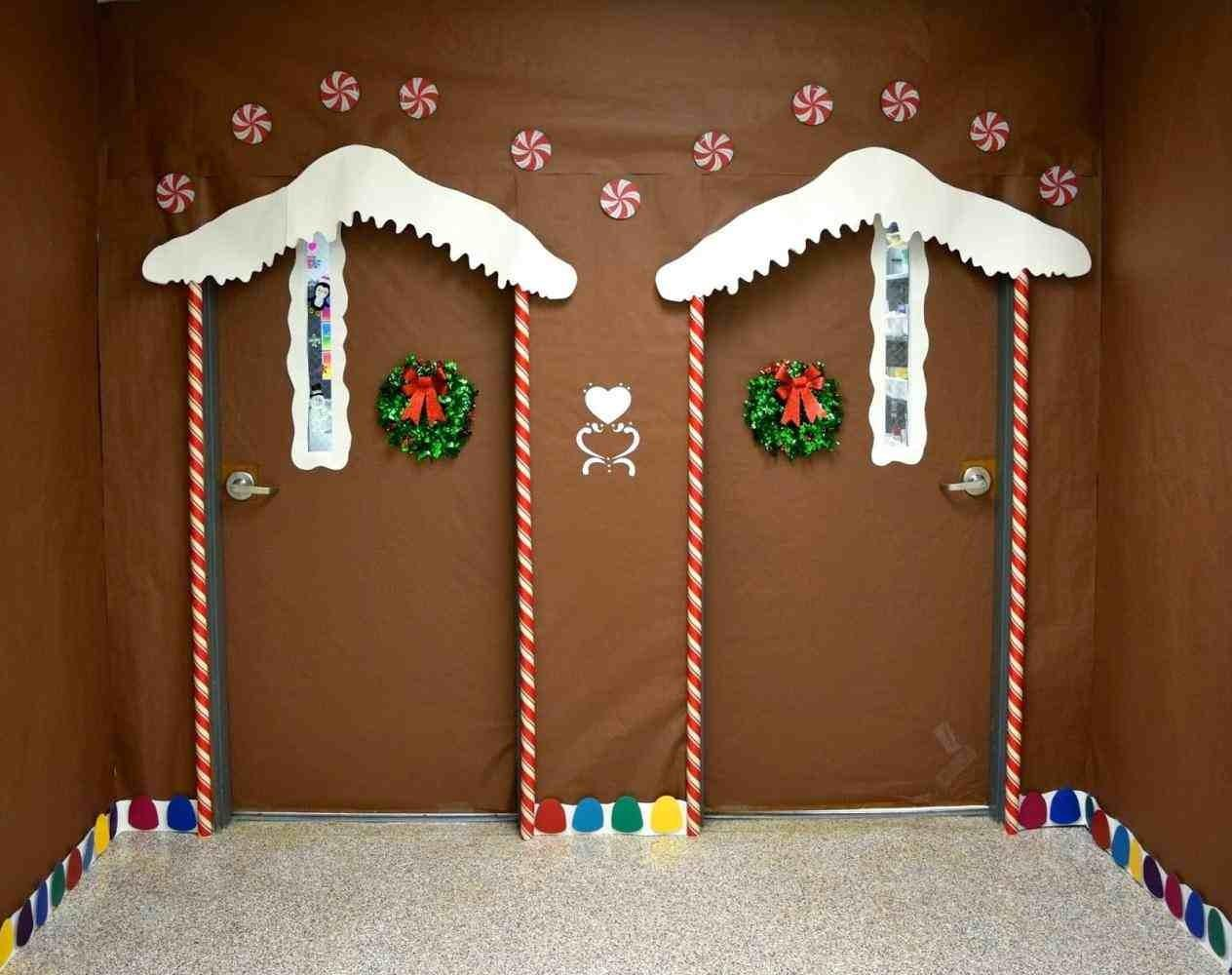 Unique Christmas Door Decorations Temasistemi