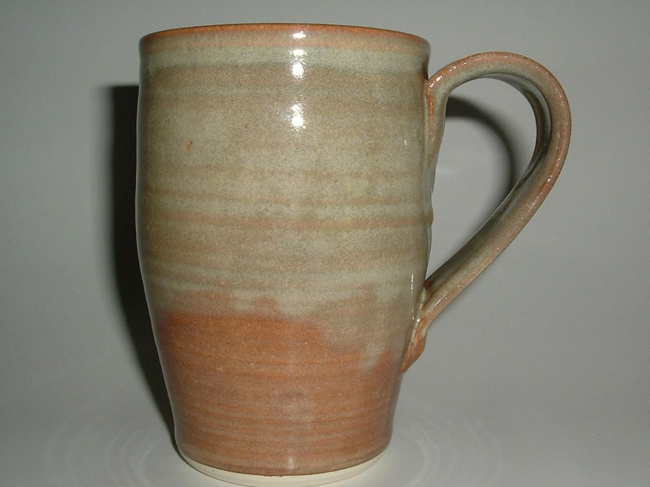 Unique Coffee Mugs Handmade Stoneware Pottery Large Mug Foggy