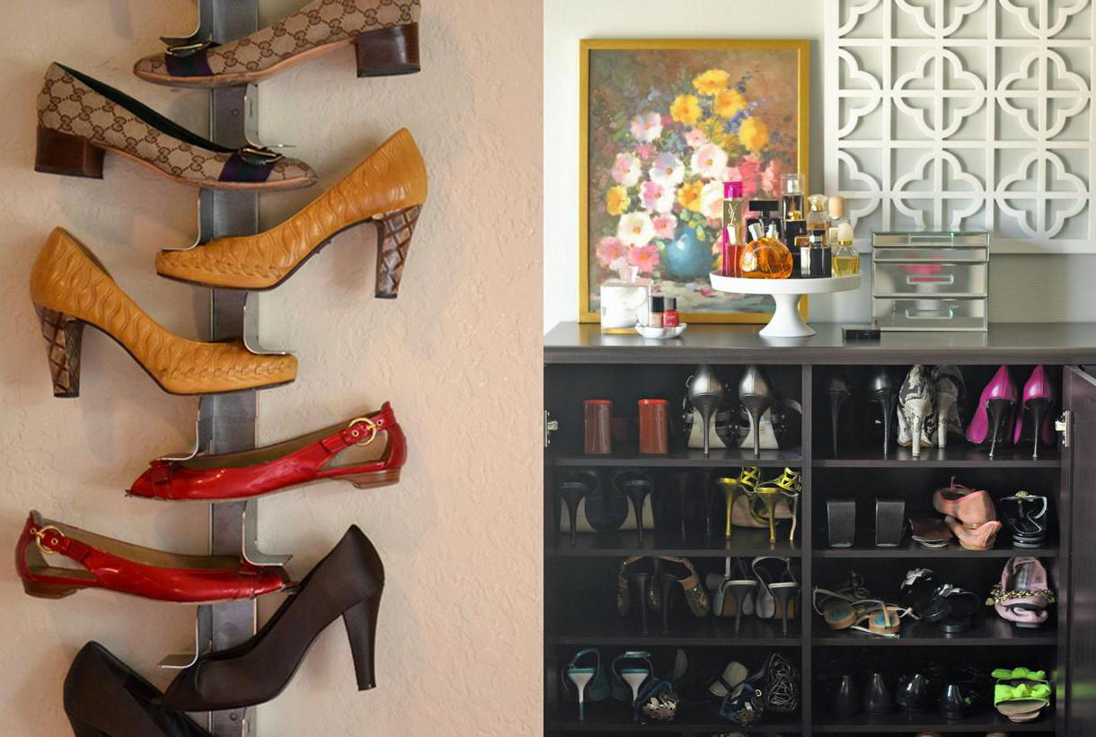 Unique Creative Shoe Storage High Post Desaign Ideas