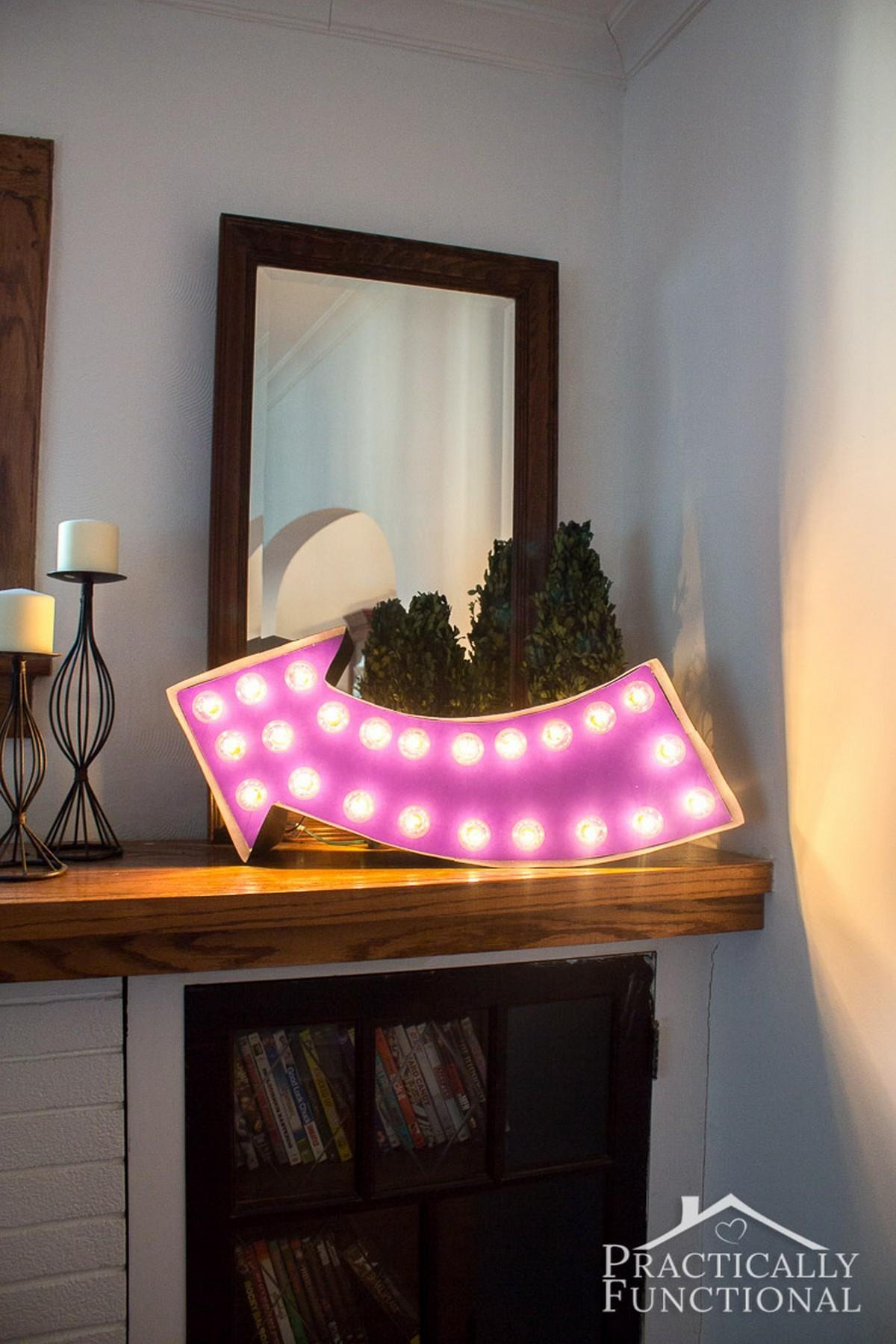 Unique Diy Marquee Letter Lights Love