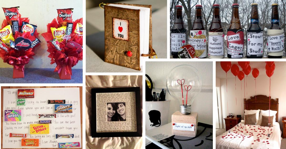 Unique Diy Valentine Day Gifts Men