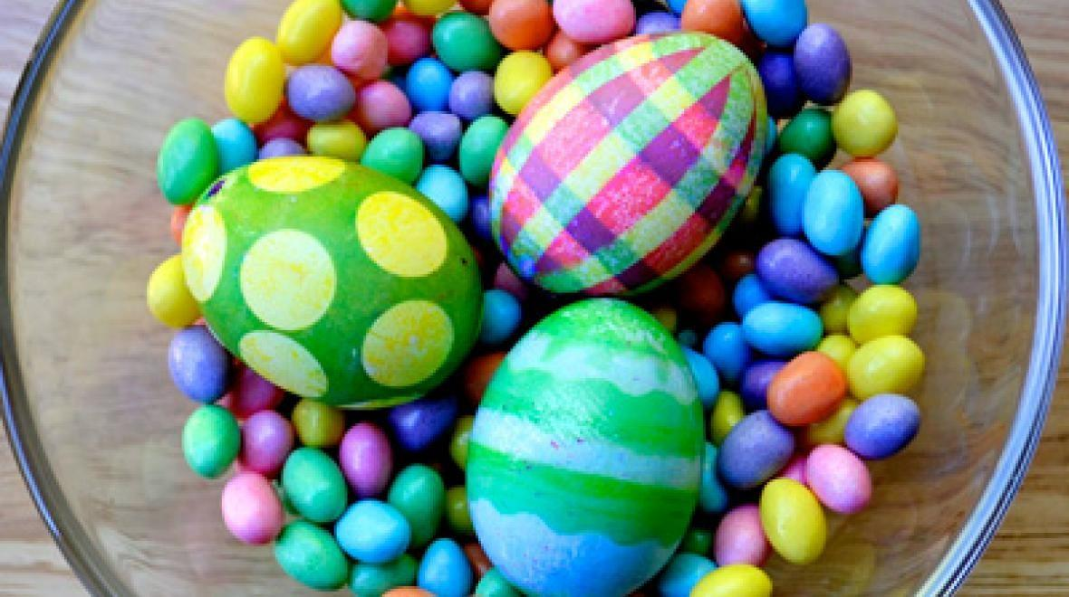 Unique Easter Egg Designs Creative Dyeing