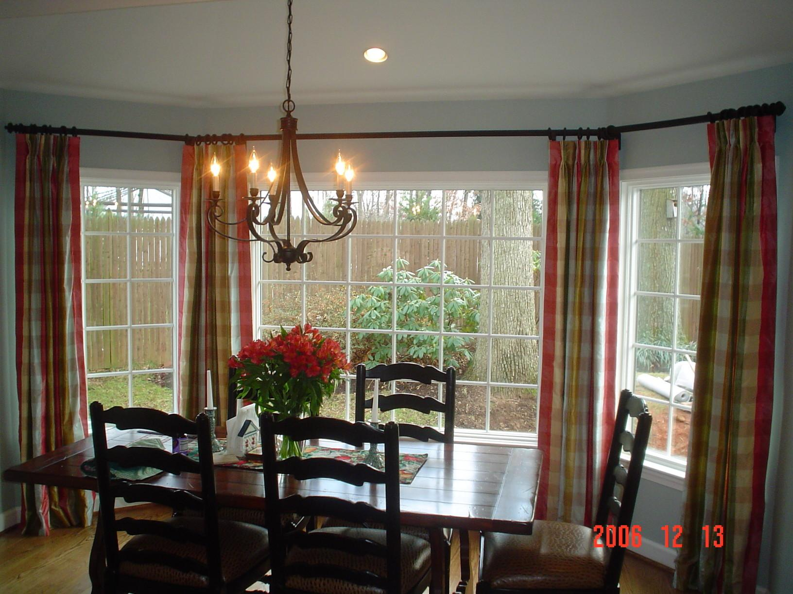 Unique Formal Dining Room Window Ideas Light
