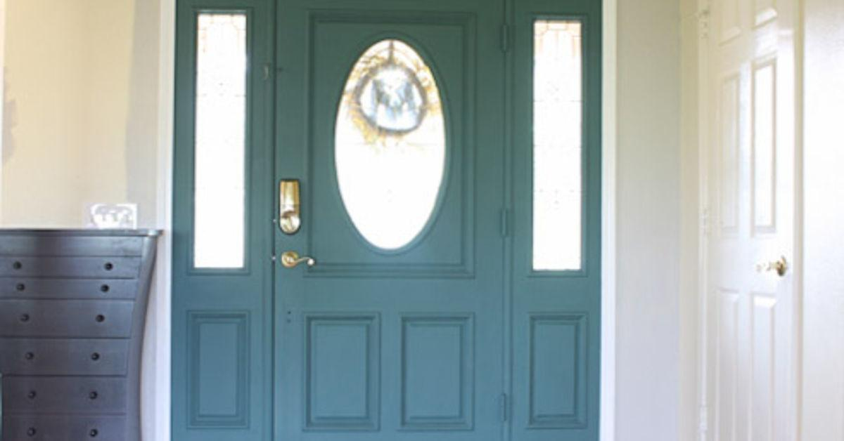 Unique Front Door Colors Chalk Paint Hometalk
