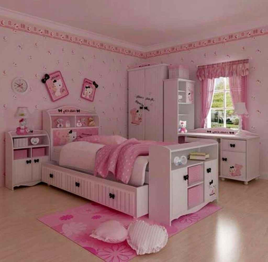 Unique Furniture Impressive Girls Bedroom Design