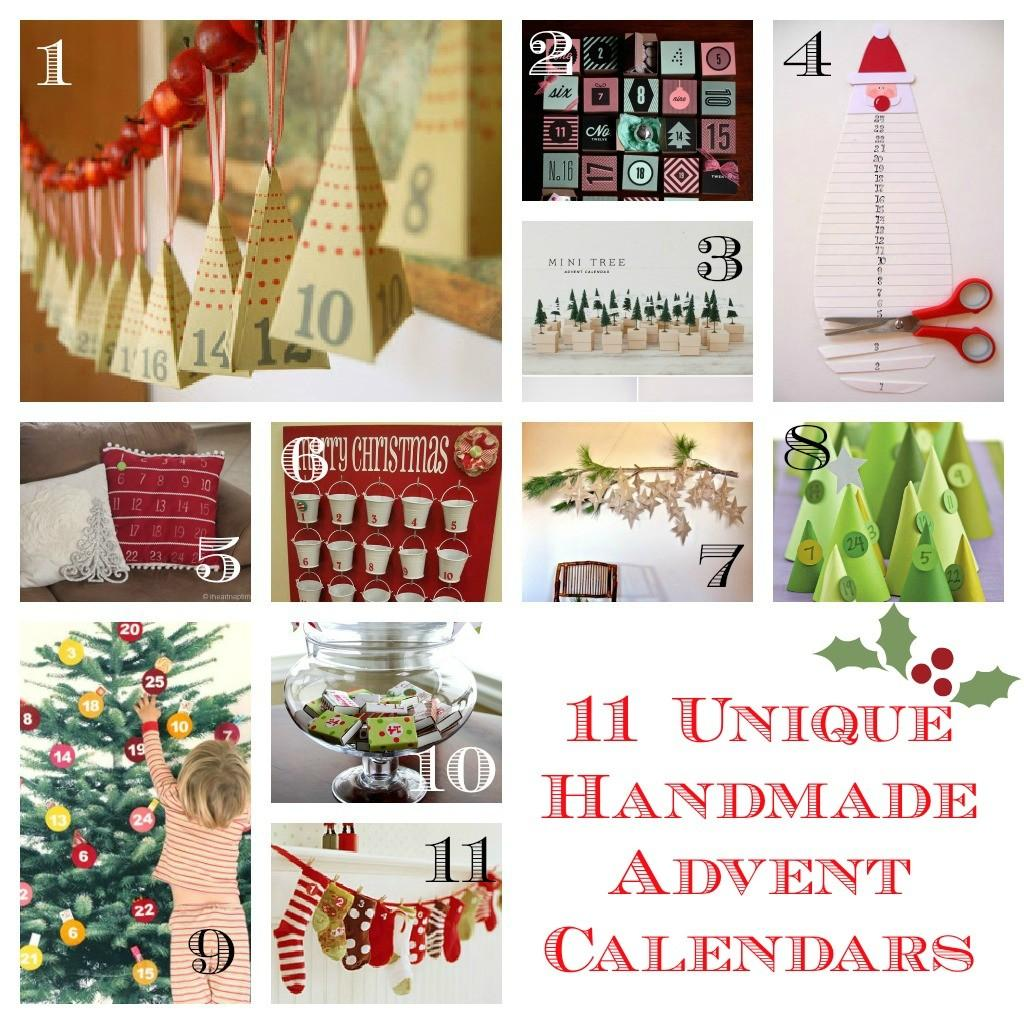 Unique Handmade Advent Calendars Frugal Mom