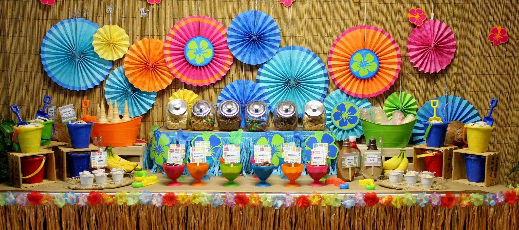 Unique Hawaiian Party Decorations Cor Home Decor Ideas