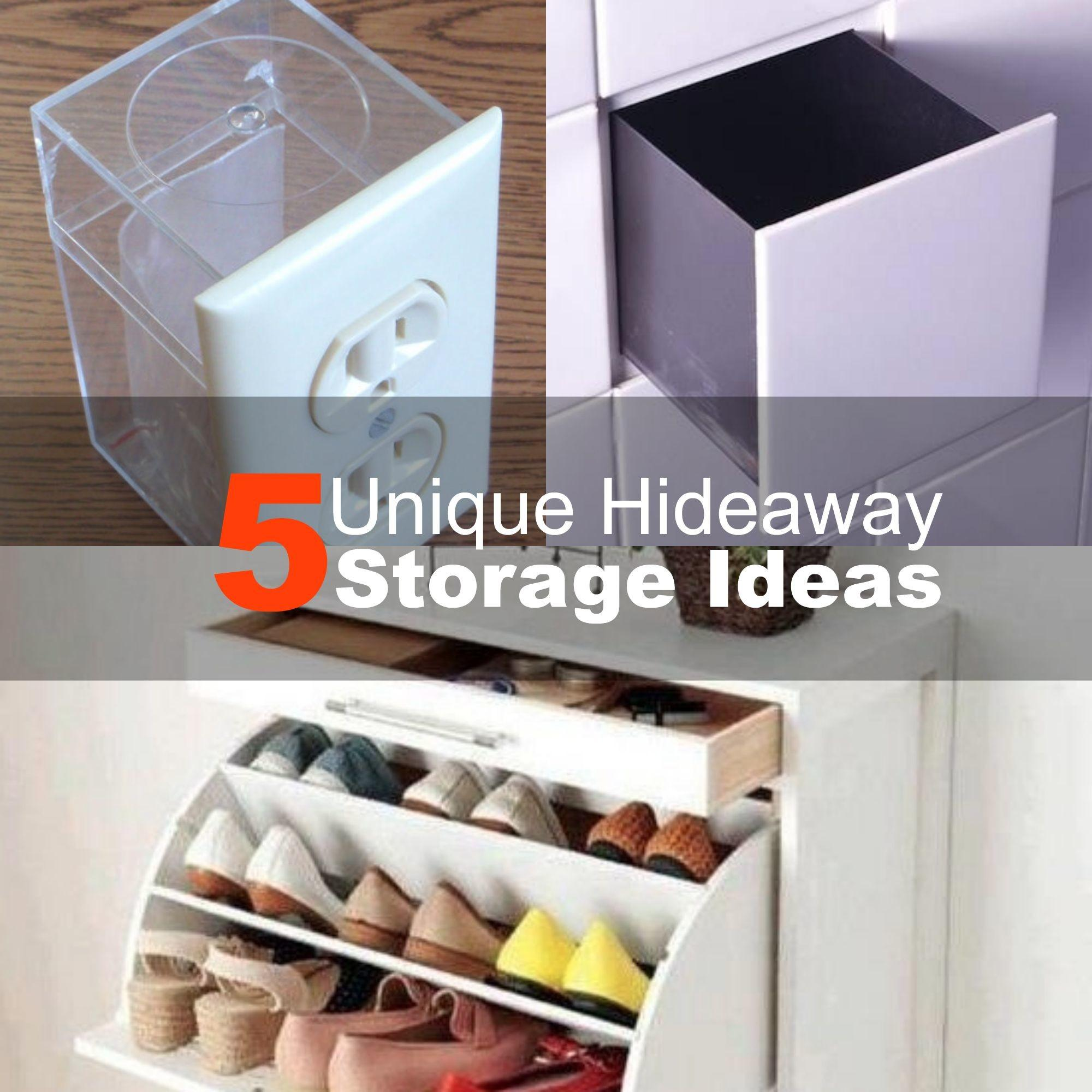 Unique Hideaway Storage Ideas 2015